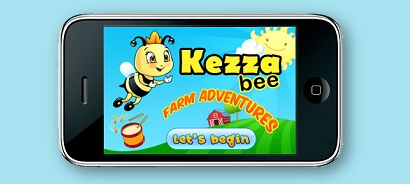 Voice Overs & Narration by Diane de Zylva | www.bluegumstudios.com | Kezza Bee Farm Animals, Voice of Kezza Bee & Animals