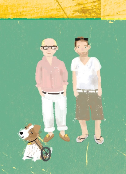 Post image for The Adventures of Geoff and His Two Dads – iPhone App